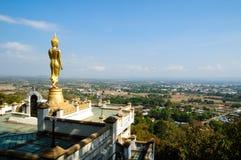 Buddha Wat Phra That  Khao Noi, Thailand Royalty Free Stock Photos
