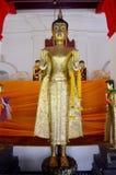 Buddha Wat Phra Mahathat Woramahawihan Zdjęcia Royalty Free