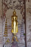 Buddha   Wat Phutthaisawan. The Art of ayuthaya Royalty Free Stock Photos