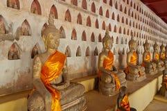 Buddha at Wat Sisaket. Vientiane. Laos. Stock Photos