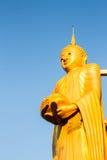 Buddha in wat sumpanyu chiangmai Thailand Stockbild