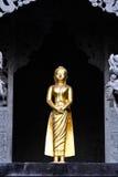 Buddha in Wat Suthat Lizenzfreie Stockfotos