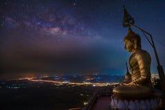 Buddha in Wat Tham Seua. (Tiger Cave), Krabi, Thailand Stock Images