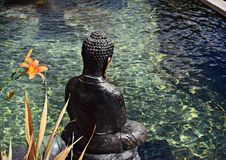 Buddha On The Water Stock Image