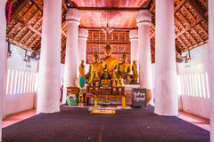 Buddha Watnakhonchum a Phichit Tailandia immagine stock libera da diritti