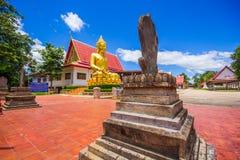 Buddha Watnakhonchum a Phichit Tailandia fotografia stock