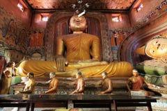 Buddha in Wewurukannala Vihara near Dikwella, Sri Stock Images
