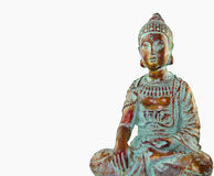 Buddha On White Stock Photography