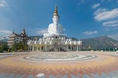 Buddha. White five Buddha in thailand Stock Photo