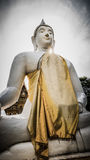 Buddha white statue  in Wat Prang Luang buddhist temple. Stock Images