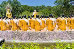 Free Buddha With Disciple At Thai Temple Royalty Free Stock Image - 84734346