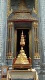 Buddha wizerunek, świątynia, Bangkok, Tajlandia Obrazy Royalty Free