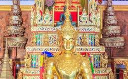 Buddha, wizerunek brązowa statua obrazy stock