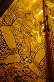 Buddha Wizerunek Drzwi Obrazy Stock