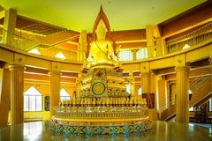 Buddha wizerunek przy Angthong świątynią, Angthong prowincja, Tajlandia fotografia royalty free