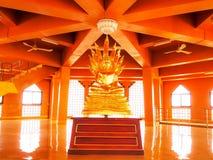 Buddha wizerunek przy Angthong świątynią, Angthong prowincja, Tajlandia zdjęcie stock