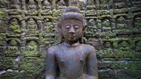 Buddha wizerunek w Mrauk U, Myanmar Obraz Royalty Free