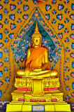 Buddha wizerunek w wata arun Zdjęcia Stock