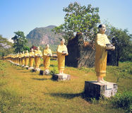 Buddha wizerunki stara świątynia Fotografia Stock