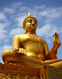 buddha wizerunku obsiadanie obraz royalty free