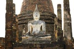Buddha wizerunku ruina Fotografia Stock