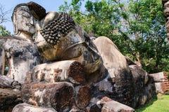 buddha wizerunku ruiny Obrazy Royalty Free