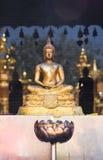 Buddha wizerunku tajlandzki styl Obraz Stock