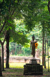 Buddha in the woods. Royalty Free Stock Photography