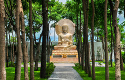 Buddha. The word Buddha means awakened one or the enlightened one Royalty Free Stock Photos