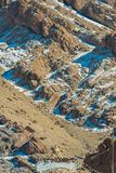 Buddha wyobraża sobie przy pogórzem Obraz Stock