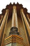 Buddha y templo Imagen de archivo
