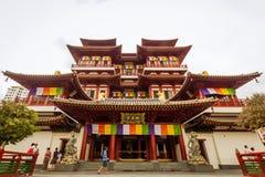 Buddha zębu relikwii muzeum i świątynia fotografia stock