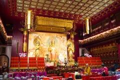 Buddha zębu relikwii muzeum przy Chinatown w Singapur i świątynia Fotografia Royalty Free