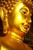 Buddha Złocista postać Fotografia Royalty Free