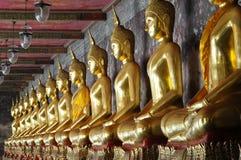 buddha złoty zdjęcie stock