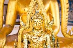 Buddha złoty w świątynny Tajlandia Zdjęcie Stock