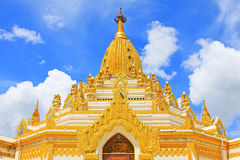 Buddha zębu relikwii pagoda, Yangon, Myanmar Obrazy Stock