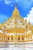 Buddha zębu relikwii pagoda, Yangon, Myanmar Zdjęcia Royalty Free