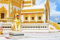 Buddha zębu relikwii pagoda, Yangon, Myanmar Zdjęcie Royalty Free