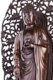 Buddha z lotosem i swastyką Zdjęcia Royalty Free