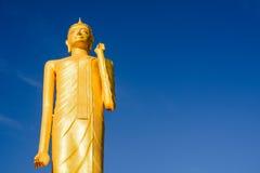 Buddha, złoto Fotografia Stock