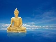buddha złoty Zdjęcia Stock