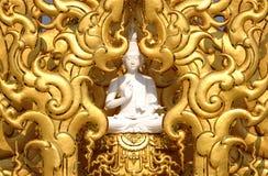 buddha złoty Obraz Royalty Free