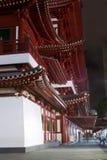 Buddha-Zahn-Relikt-Tempel in Singapur Lizenzfreies Stockfoto