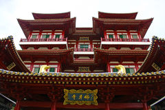 Buddha-Zahn-Relikt-Tempel, Singapur Lizenzfreies Stockfoto