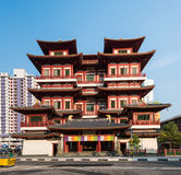 Buddha-Zahn-Relikt-Tempel, Singapur Stockbild