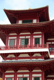 Buddha-Zahn-Relikt-Tempel und Museum - Singapur Stockfotos