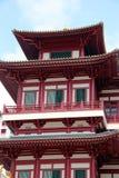 Buddha-Zahn-Relikt-Tempel und Museum - Singapur Lizenzfreie Stockfotos