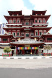 Buddha-Zahn-Relikt-Tempel und Museum - Singapur Stockbild