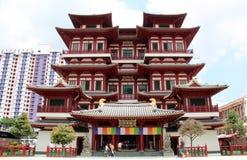 Buddha-Zahn-Relikt-Tempel und Museum - Singapur Stockfotografie